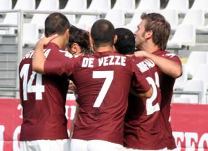TORINO FC stagione calcistica Serie B 2010/2011 nella foto esult
